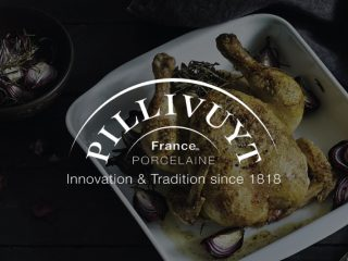 Pillivuyt, from the web... to the plate!