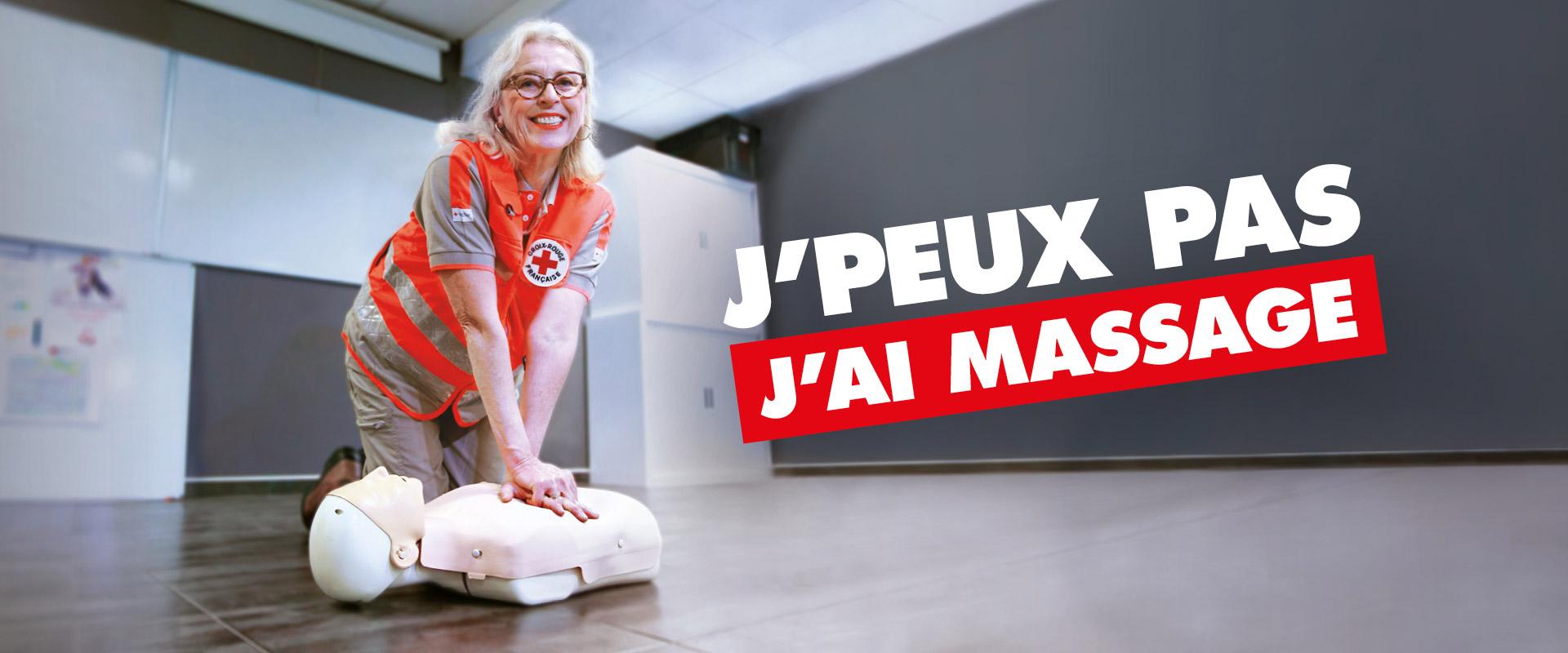 Campagne affichage dons La Croix Rouge Française par agence publicité Buzznative paris orléans