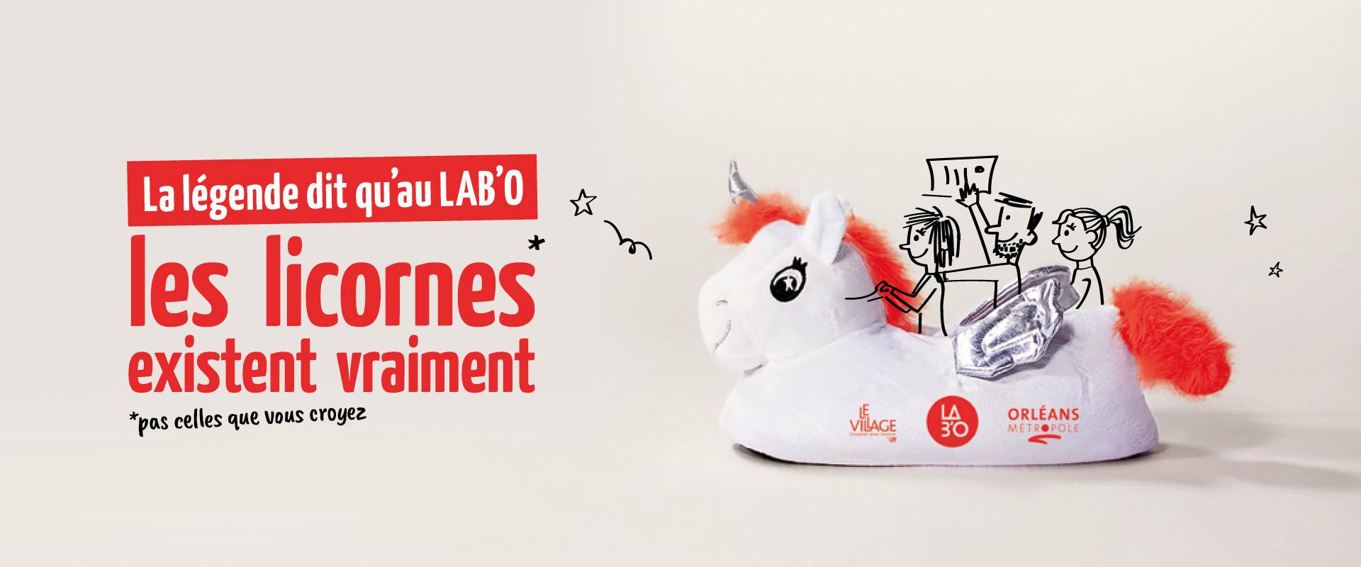 Campagne incubateur numérique startup LabO Orléans par agence publicité communication Buzznative